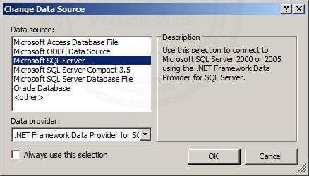 ASP.NET & SqlDataSource