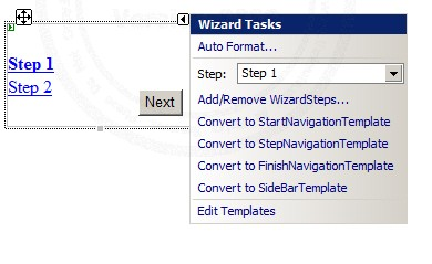 ASP.NET Wizard