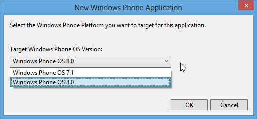 Create Project Windows Phone 8