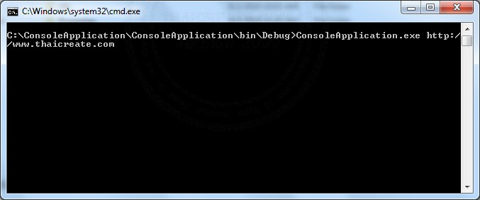 .NET Console Application