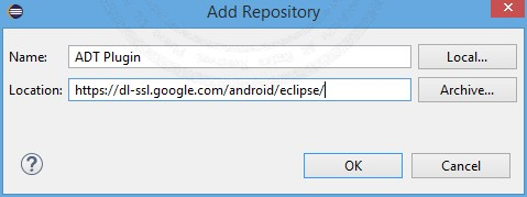 ADT (Android Development Tools Plugin eclipse)