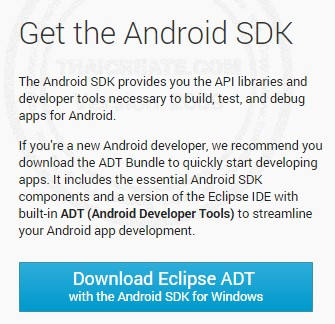 Install Android SDK