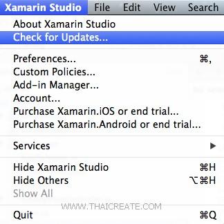 Xamarin.iOS Mac OS C#