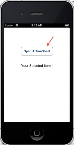 iOS/iPhone Adding image Action Sheet (UIActionSheet) and Alert View (UIAlertView)