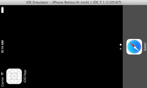 iOS 7 Xcode 5 Simulator
