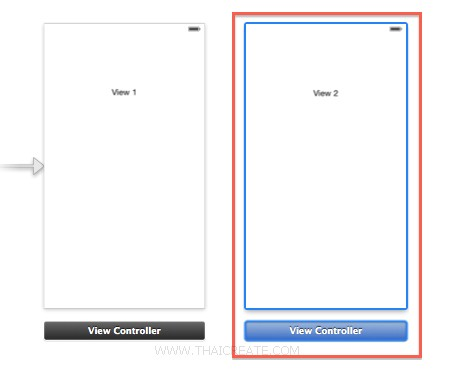 iOS 7 Storyboard Xcode5 View