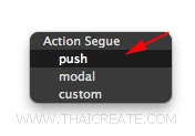 iOS/iPhone Storyboard Segue and Push Segues