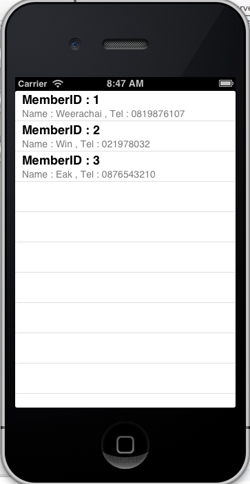 iOS/iPhone Retrieve List Show Data from Web Server (URL,Website)