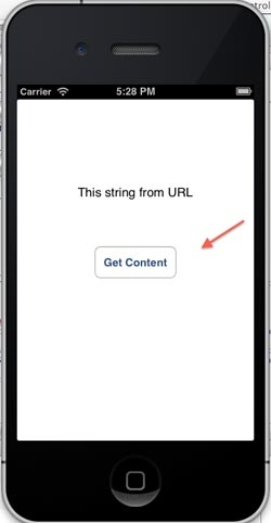 iOS/iPhone Get the String contents from URL (Website)