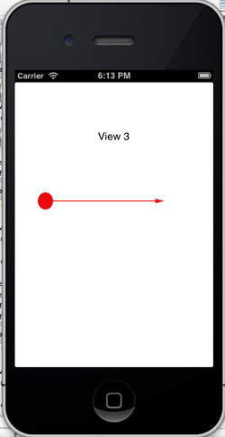 iOS/iPhone Swipe Gesture and Storyboard (Objective-C, iPhone, iPad)