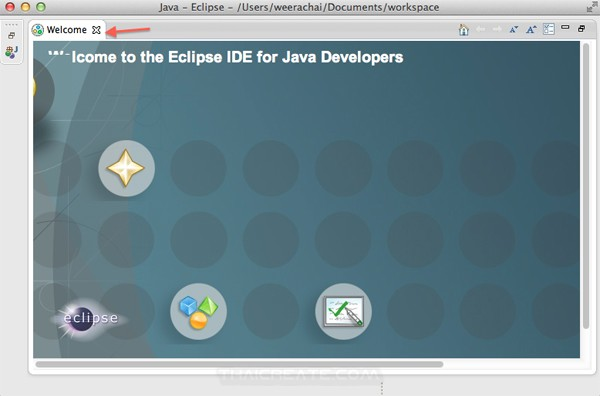 Eclipse for Java (Mac)