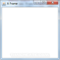 Java AWT and Frame (java.awt.Frame)