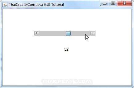 Java AWT and Scrollbar (Scrollbar)