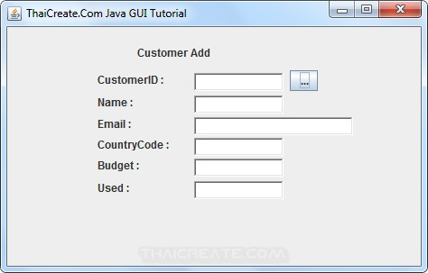 Java GUI Choose Data  from JDialog to Main Frame