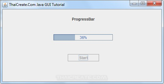 Java GUI SwingWorker and JProgressBar