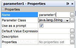 iReport Create Parameters and Pass Variable