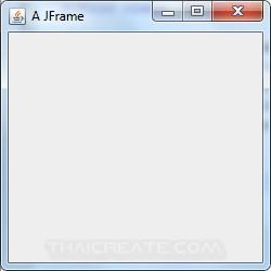 Java GUI JFrame