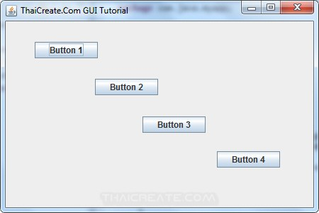 Java GUI Layout