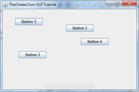 Java Absolute Layout (AbsoluteLayout)