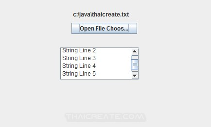 Java Swing and File Chooser (JFileChooser)