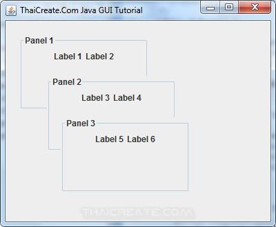 Java Layered Pane (JLayeredPane)