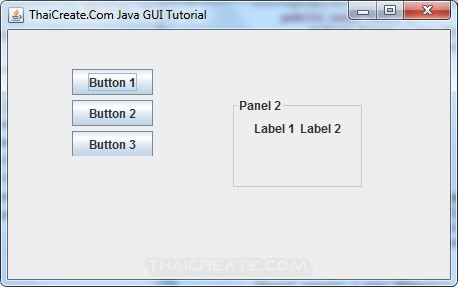 Java Panel (JPanel)