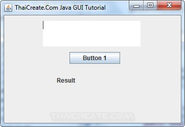 Java Text Area (JTextArea)