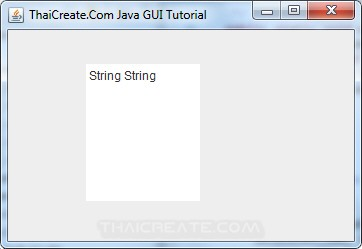 Java Text Pane(JTextPane)
