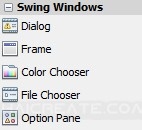 Java GUI Swing Windows