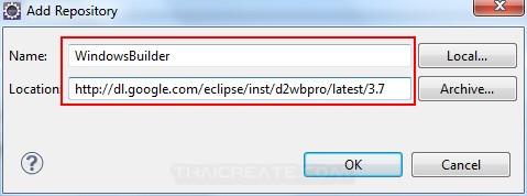 Java GUI WindowsBuilder