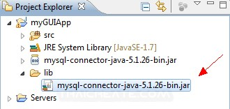 Java GUI Retrieve List Data from Database