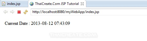 JSP Auto Refresh WebPage (Java)