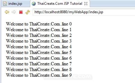 JSP Example Scriptlets