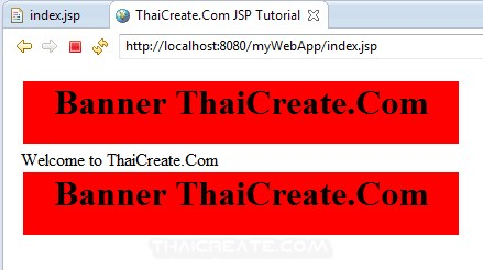 JSP and Include JSP file / Include page