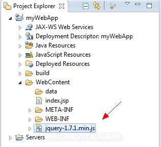 JSP and jQuery