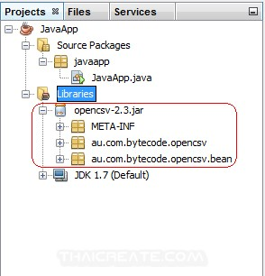 Netbeans  Add Jar Library
