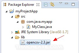 Java Read and Get CSV file