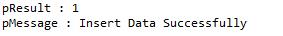 Java Stored Procedure MySQL