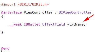 Objective-C IBOutlet and IBAction
