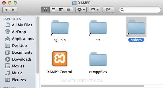 PHP Install XAMPP for Mac OS