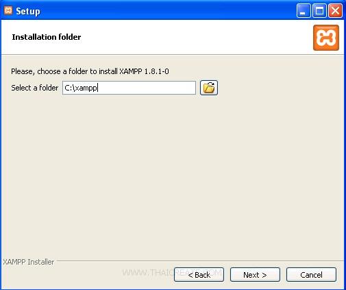 PHP Install XAMPP