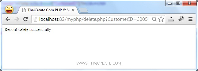PHP SQL Server Delete Data Record/Confirm Delete (sqlsrv)