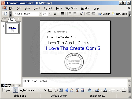 PHP & PowerPoint