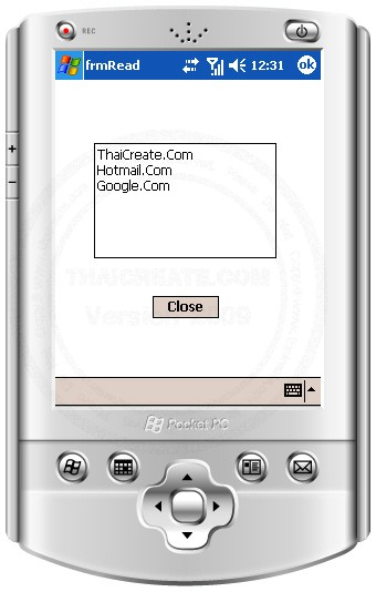 Smart Device Mobile Application Read and Write Text File