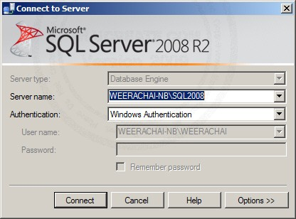 SQL Server 2008 Authentication