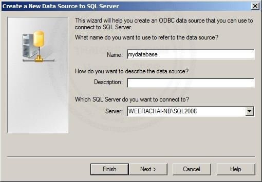 SQL Server 2008 ODBC