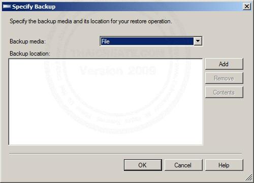 SQL Server  2008 Restore/Import