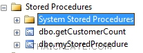 OUTPUT / OUT  : Stored Procedure