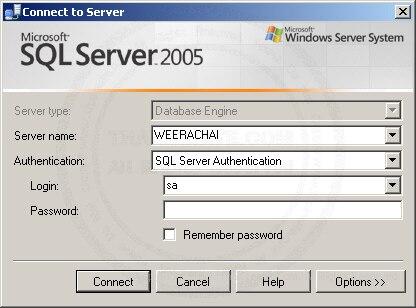 SQL Server Authentication