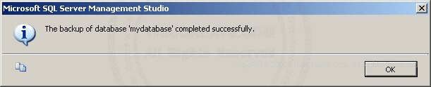 SQL Server 2005 Export/Backup